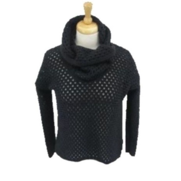 James Perse Sweaters - James Perse Los Angeles Sweater Cowl Neck Black